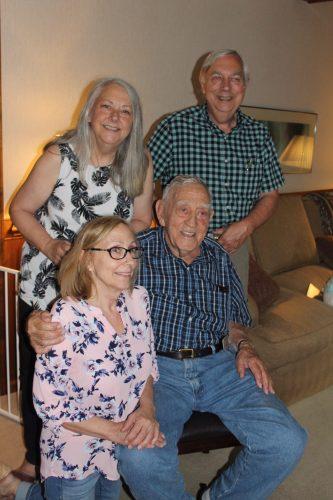 Charlie Britt celebrates 95