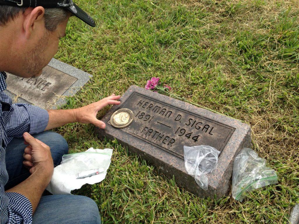 Herman D. Sigal headstone